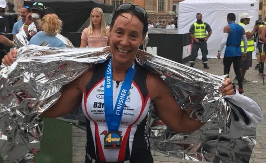 ironman triathlon finisher