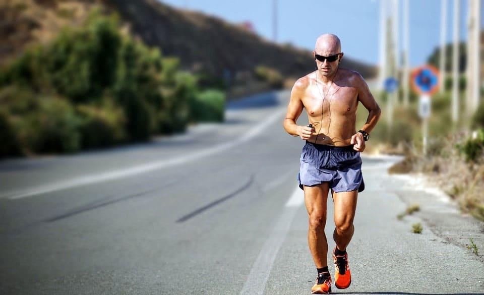 running fast over 50