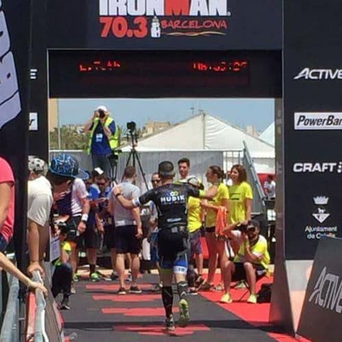 ironman 70.3 training