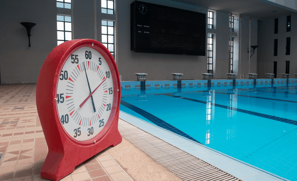 How to time swimming