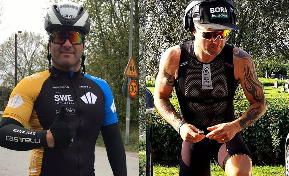 Cycling Body Transformation Male