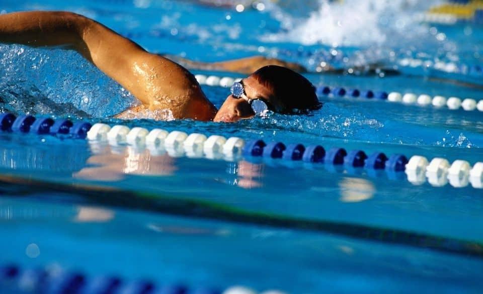 Corkscrew Swimming Drill