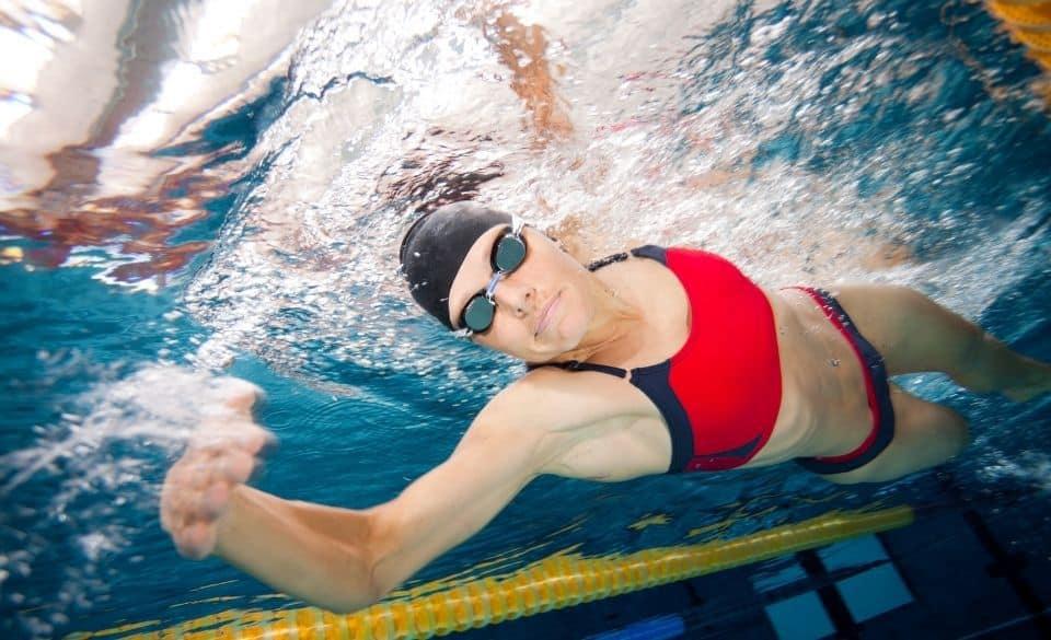 Corkscrew Swimming